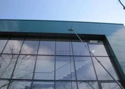 Glasreinigung von Hausfassade in Dortmund