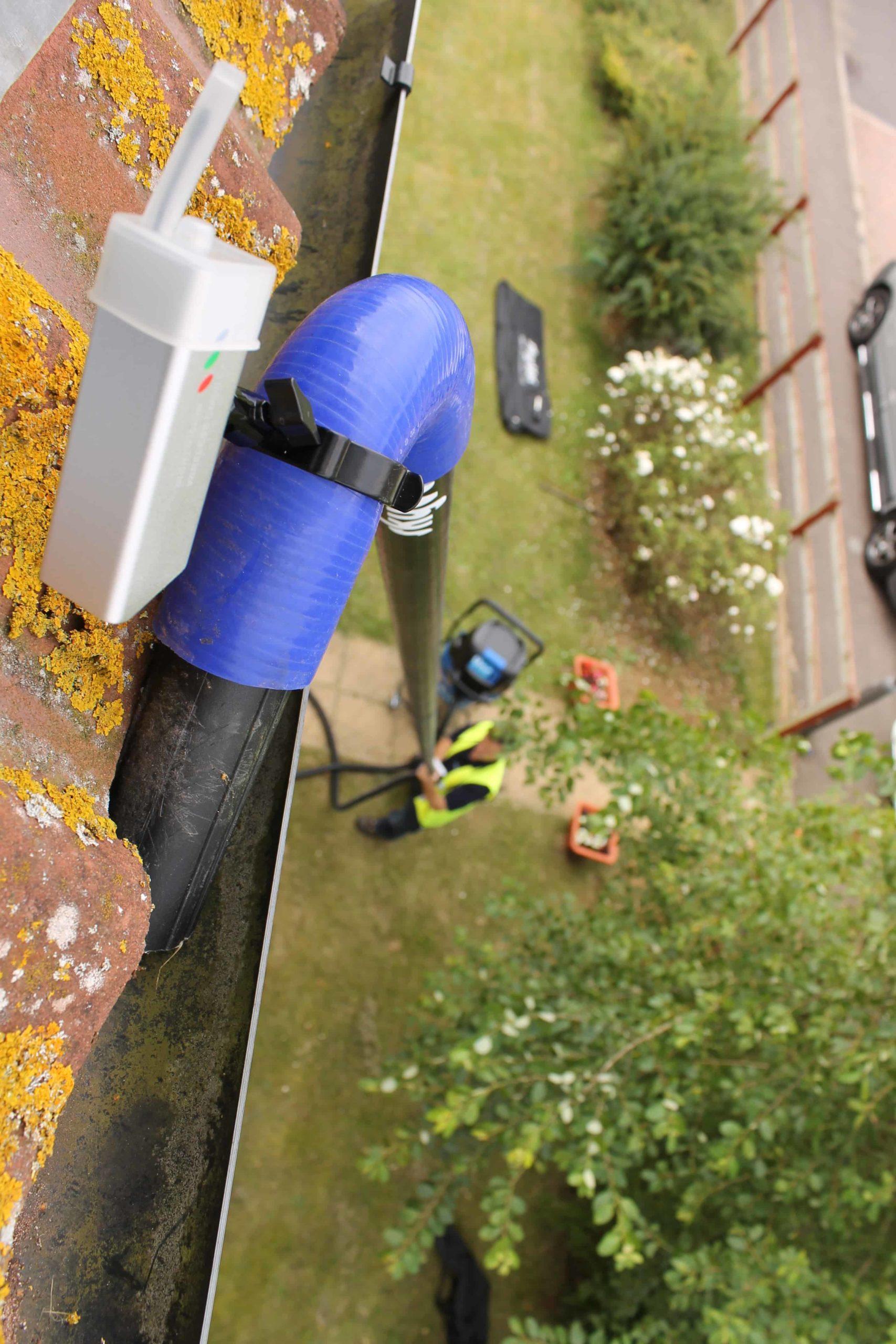 Fensterreinigung Regenstreifen Dortmund Kalkflecken